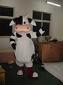 上海卡通人偶行走人偶服�奶牛
